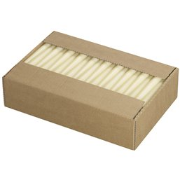 Gothic Candles 240x23mm Ivory