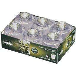 Liquid Wax Refills Transparant 35 Branduren