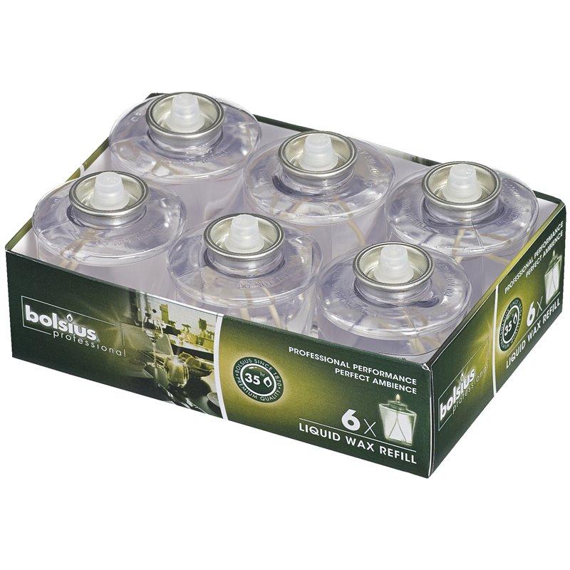 Liquid Wax Refills Transparentrant 35 Hours - Horecavoordeel.com