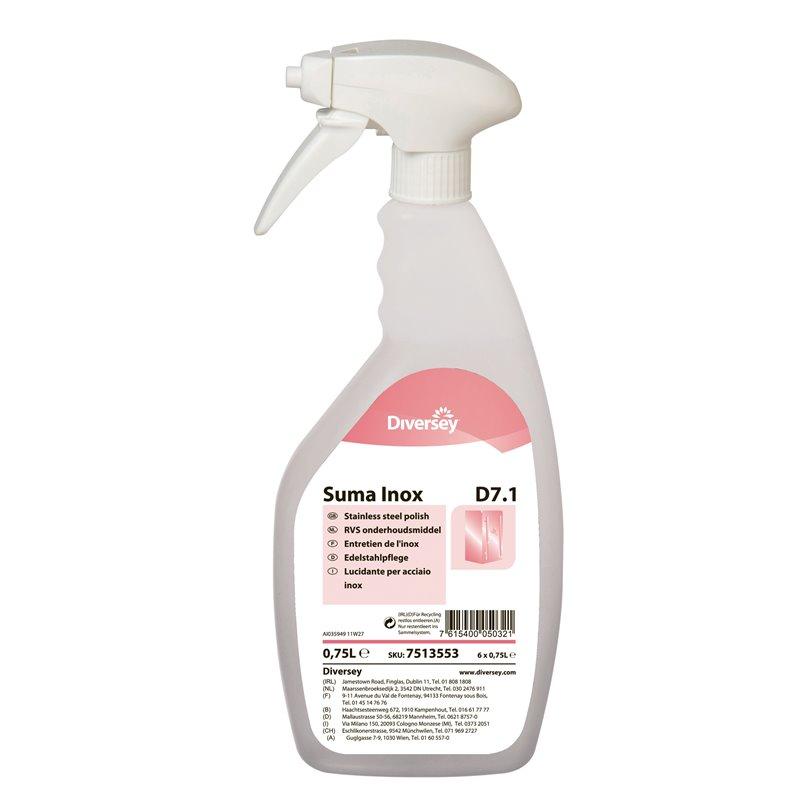 Stainless steel cleaner Suma Inox D7.1 (Small package) - Horecavoordeel.com