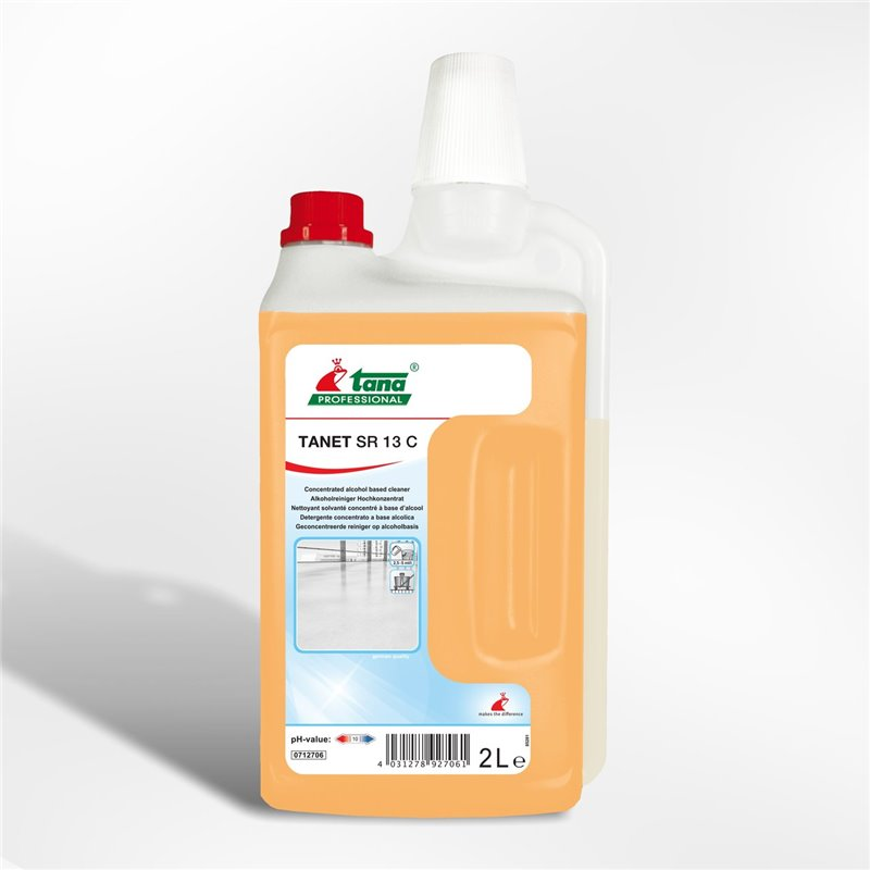 Floor cleaner Tana Tanet Sr 13 C Dosage bottle - Horecavoordeel.com