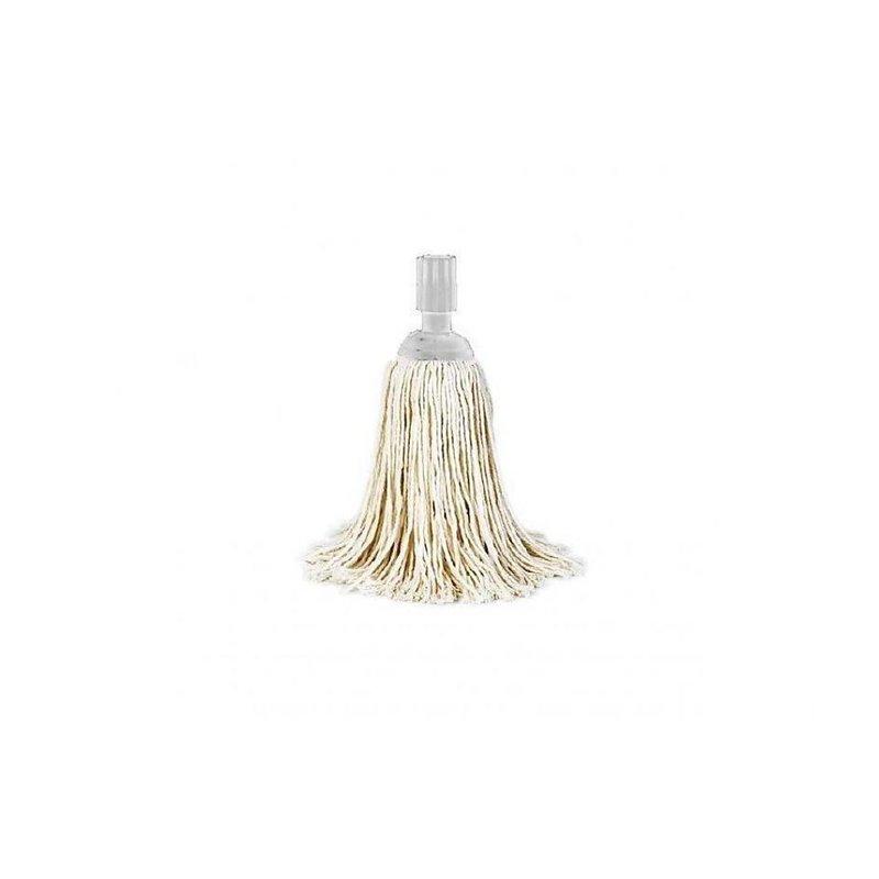 "Mop With Cap White Spanish 250 Gram ""a Quality"" - Horecavoordeel.com"