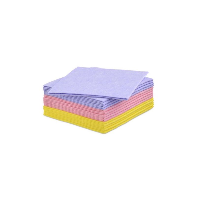 Cleaning cloth Pink Eco 63 38x40cm (Small package) - Horecavoordeel.com