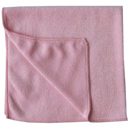 Micrwithibre cloth Pink 40x40cm Eco 62 - Horecavoordeel.com
