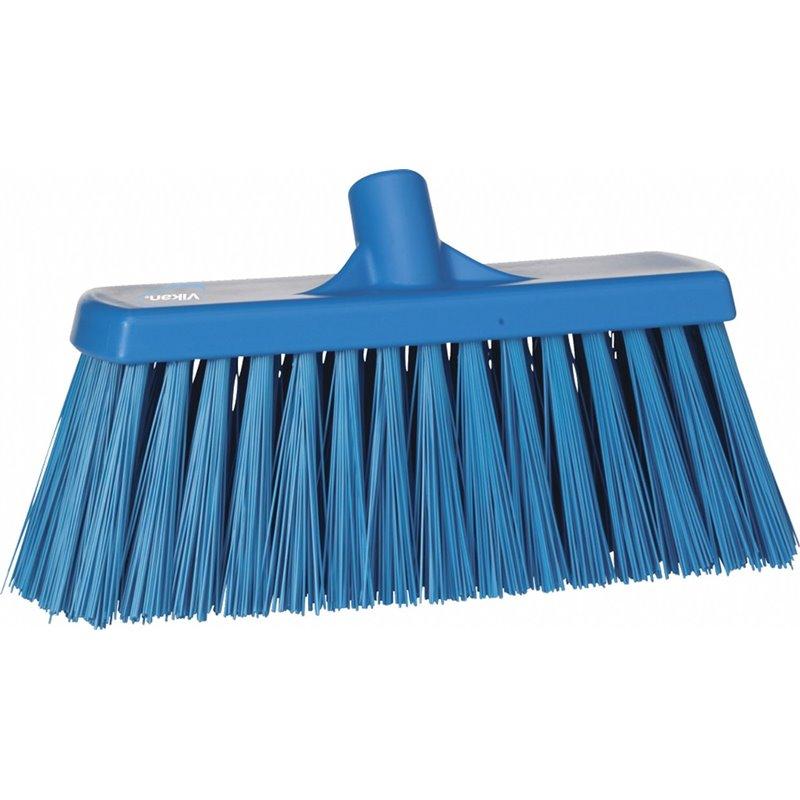 Broom Hard Vikan Blue 330x100x170mm - Horecavoordeel.com