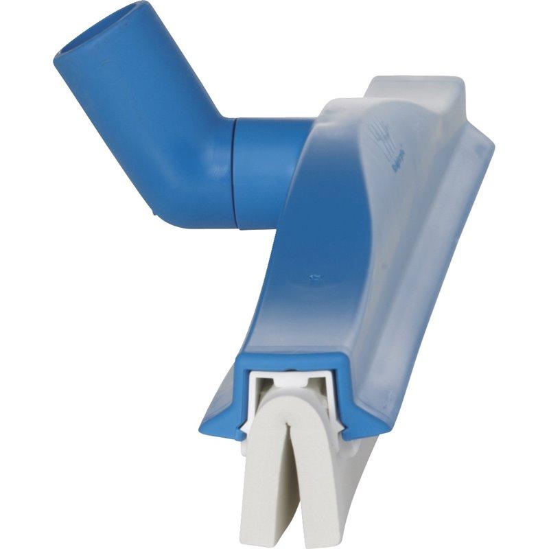 Vloertrekker Flexibele Nek Vikan Blauw Cassette Met Wit Rubber 60cm Horecavoordeel.com