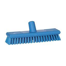 Vloerenschrobber Hard Vikan Blauw 305x85x110mm Horecavoordeel.com
