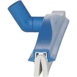 Vloertrekker Flexibele Nek (77623) Vikan Blauw Cassette Met Wit Rubber 40cm