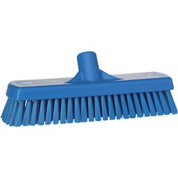 Broom Combi sweeper Vikan Blue 31x60x14cm Medium Hard