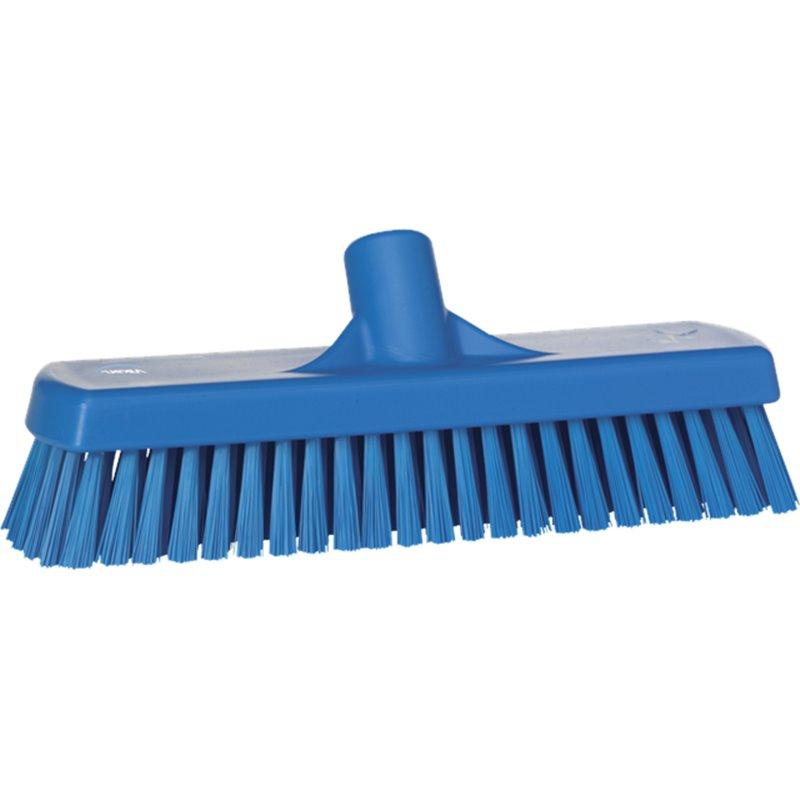 Broom Combi sweeper Vikan Blue 31x60x14cm Medium Hard  - Horecavoordeel.com