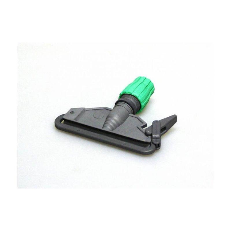 Mop clamp Plastic Grey-Green 145mm Small Model - Horecavoordeel.com