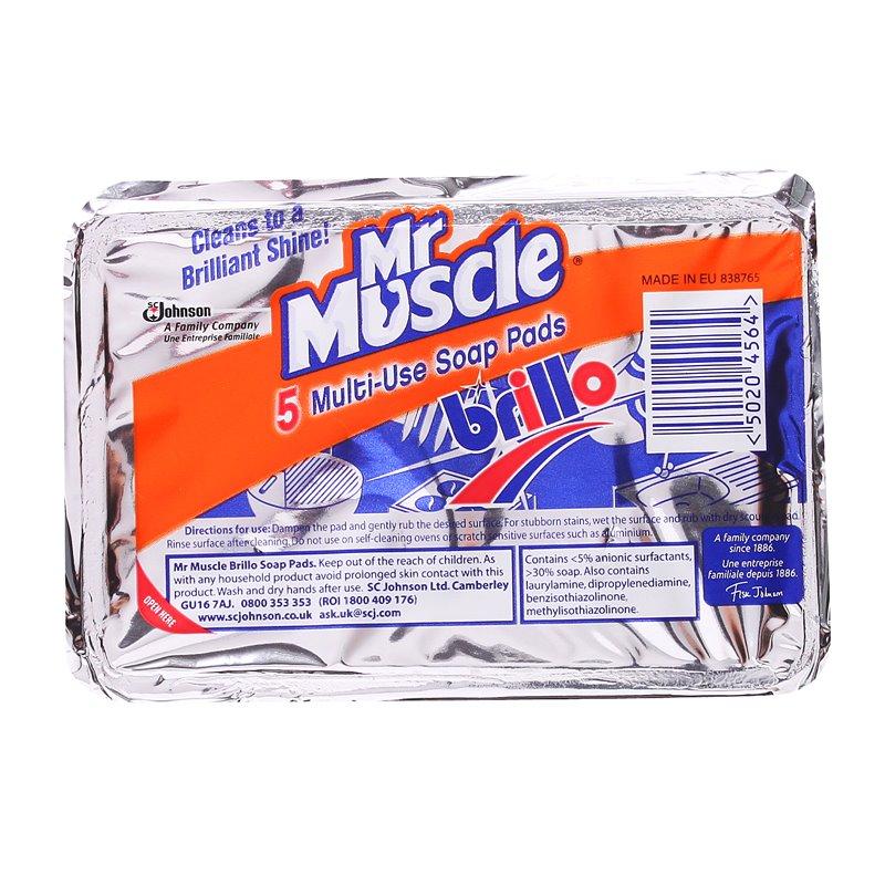 Pan sponge Mr Muscle Brillo - Horecavoordeel.com