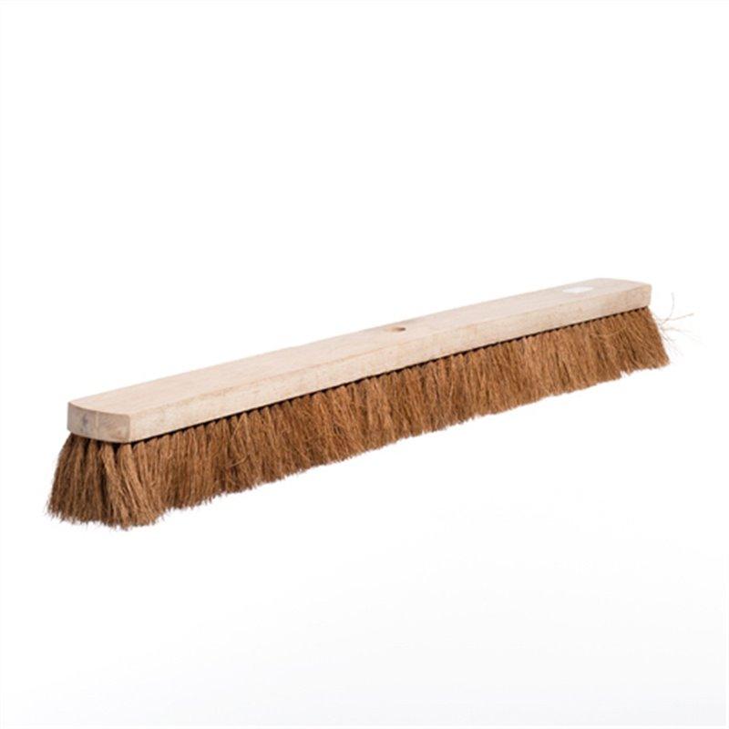Zaalveger 100cm Kokos Met Steelverbinding Horecavoordeel.com