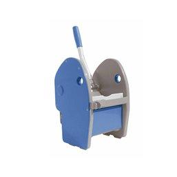 Rolemmer Chroom Duo 2x25 Liter Inclusief Duwbeugel en Pers Blauw