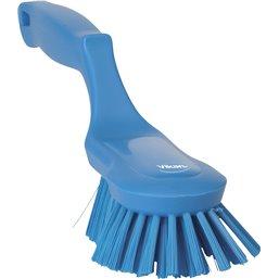 Handborstel Hard Blauw Vikan