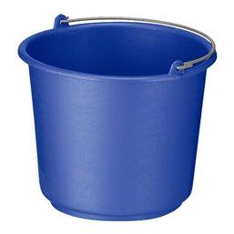 Bucket 12 liter Round Blue