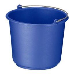Emmer 12 liter Rond Blauw