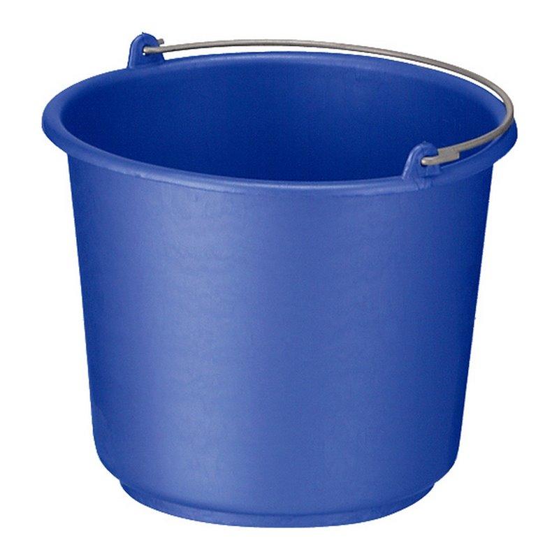 Emmer 12 liter Rond Blauw Horecavoordeel.com