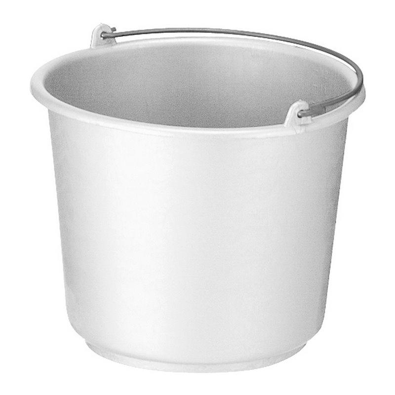 Bucket 12 Liter Round Grey - Horecavoordeel.com