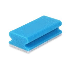 Schuurspons Krasvrij Pro61-1 Blauw/wit 7x15cm