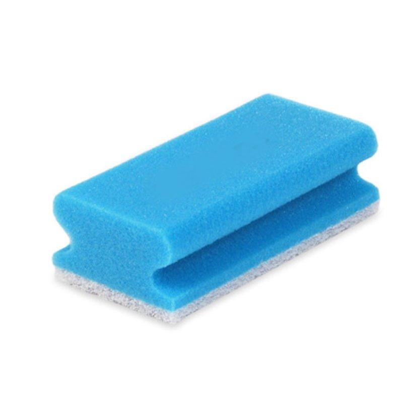 Scourer Scratch-free Pro61-1 Blue/White 7x15cm - Horecavoordeel.com