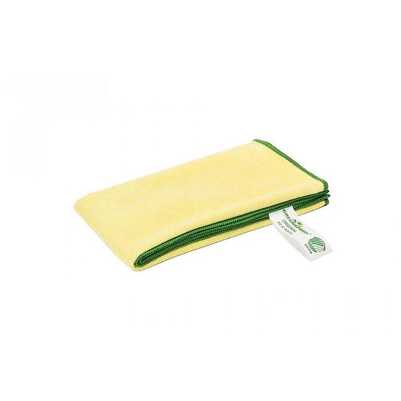 Micrwithibre cloth Yellow Greenspeed - Horecavoordeel.com