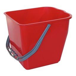Bucket 7 liter Red