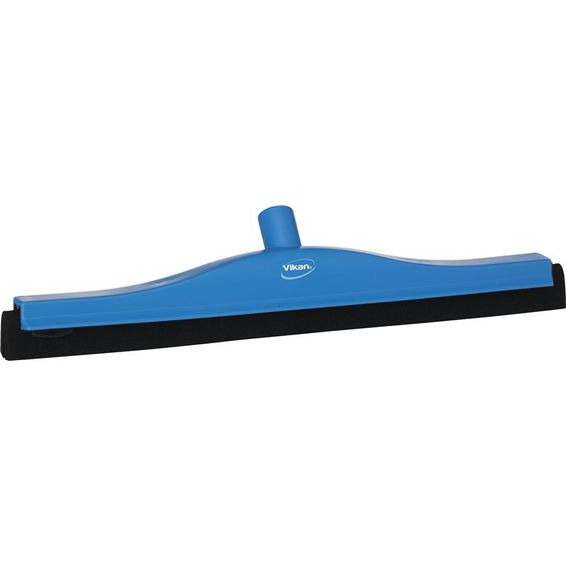 Floor wiper Fixed Vikan Blue 50cm Black Cassette  - Horecavoordeel.com