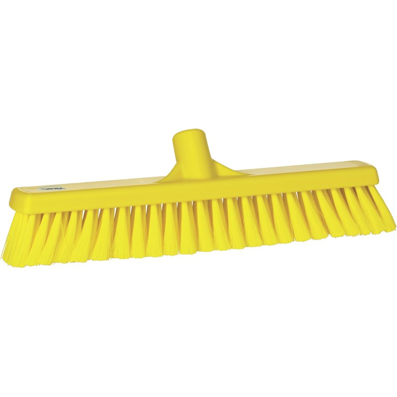 Hall sweeper Switht Yellow Vikan 400mm  - Horecavoordeel.com