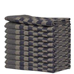 Kitchen towels Blocked Blue 65x65cm