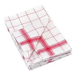 Glass towels White 65x65cm - Horecavoordeel.com