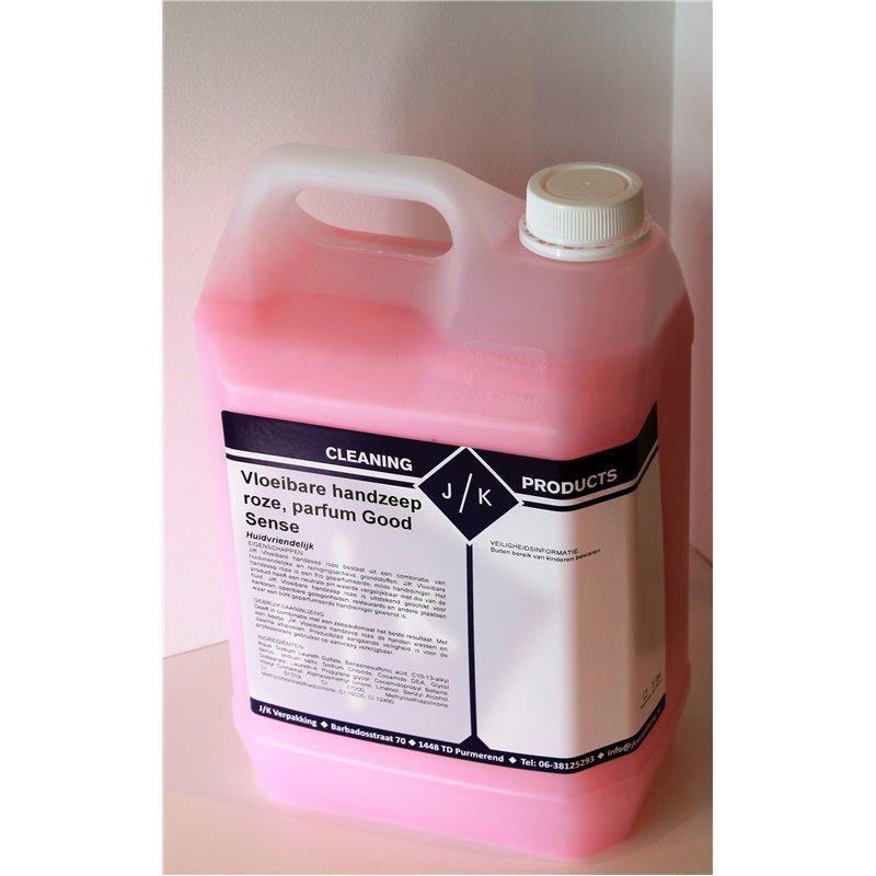 Hand soap Pink (EM) Perfumed (Small package) - Horecavoordeel.com