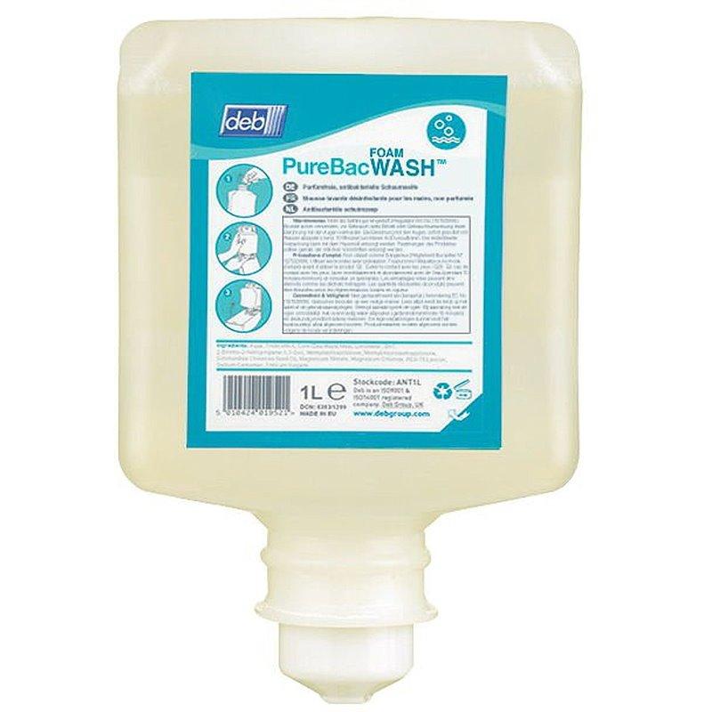 Handzeep Deb Purebac Foam Wash Antibacterieel (Klein-verpakking) Horecavoordeel.com