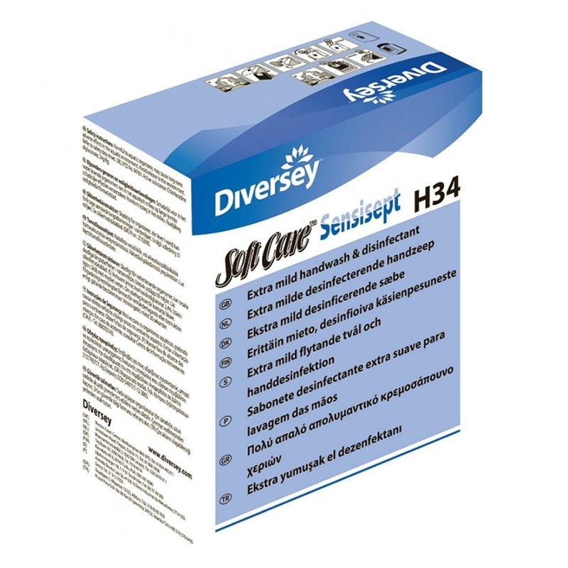 Hand soap Swithtcare Sensisept Antibac H34 - Horecavoordeel.com