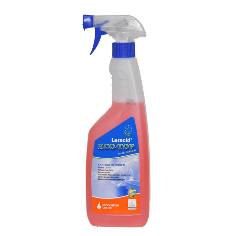 Sanitair reiniger Leracid Eco-top Sprayflacon Horecavoordeel.com