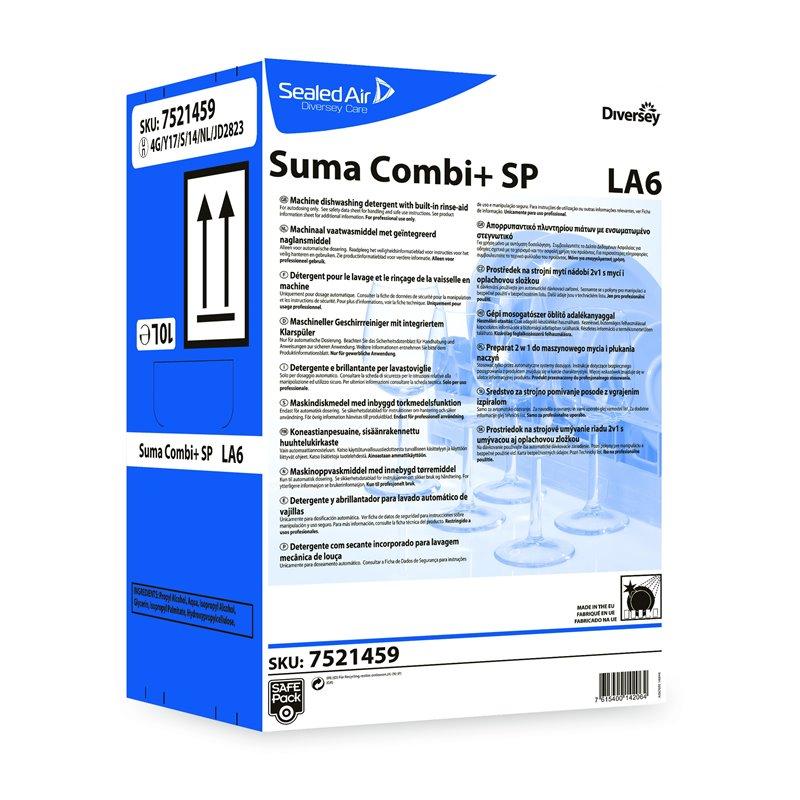 Dishwashing detergent - rinse aid Suma Combi+ La6 - Horecavoordeel.com