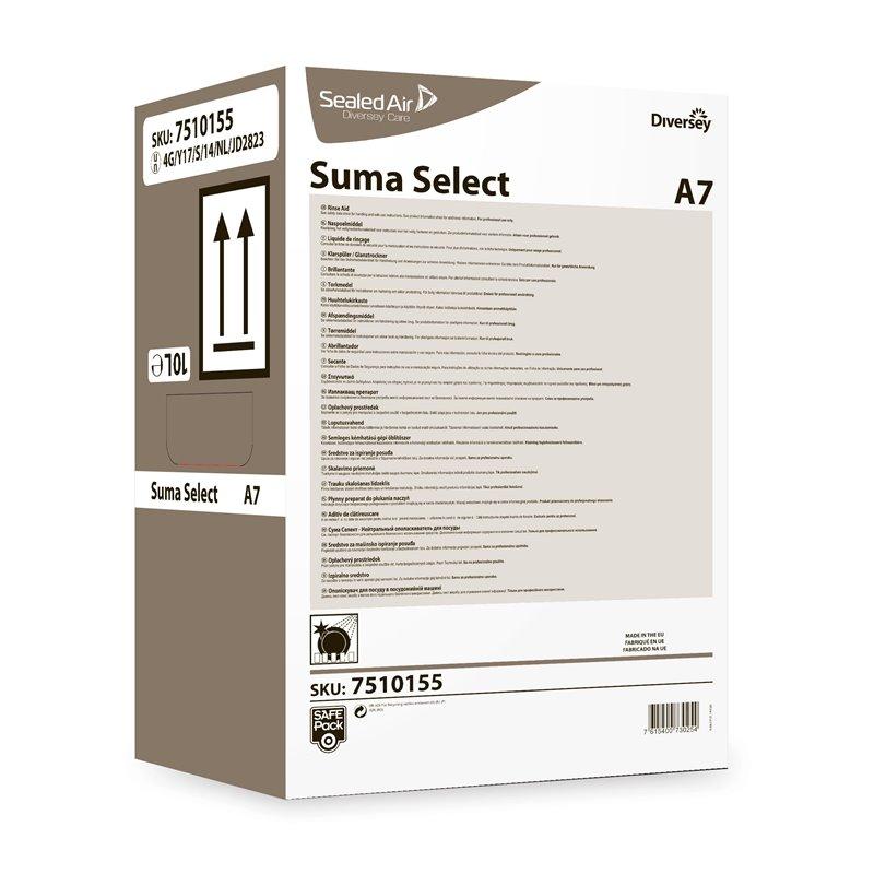 Rinse aid Switht-Medium Water Suma Select A7 Safepack - Horecavoordeel.com