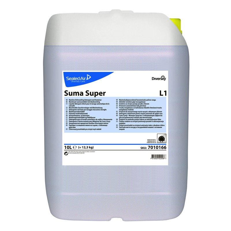 Vaatwasmiddel Zacht-middel Hard Water Suma Super L1 (Klein-verpakking) Horecavoordeel.com