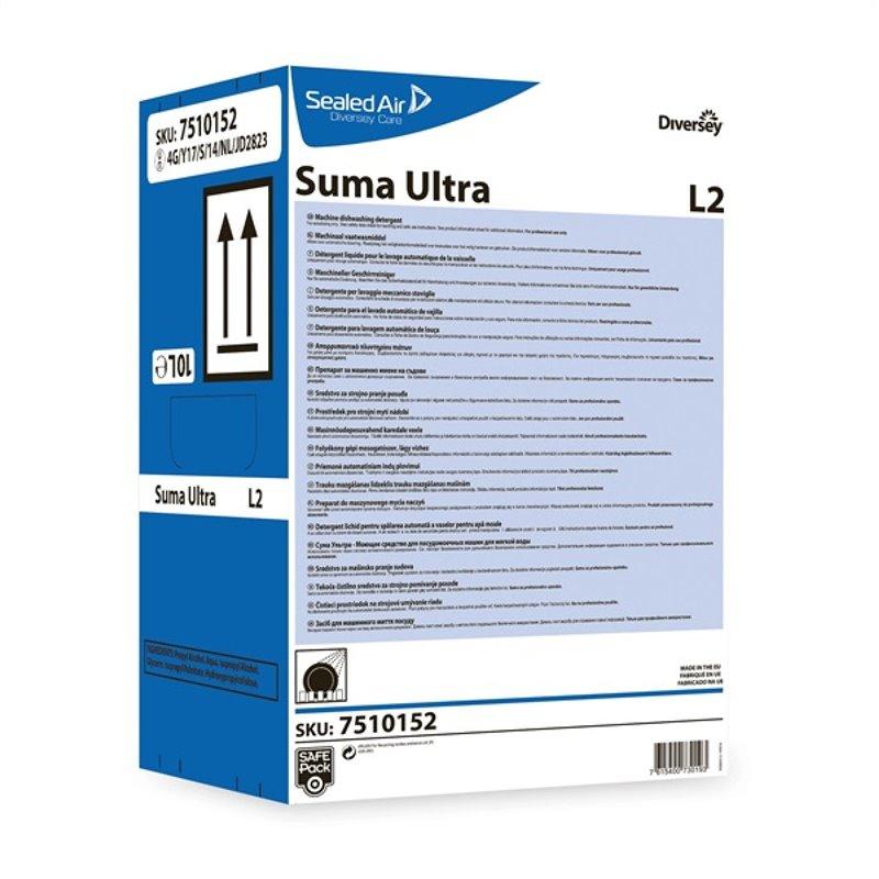 Vaatwasmiddel Zacht Water Suma Ultra L2 We21 Safe pack Horecavoordeel.com