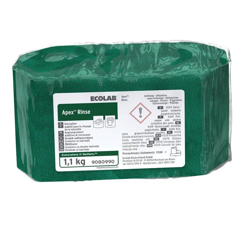 Rinse aid Ecolab Apex Rinse Block form - Horecavoordeel.com