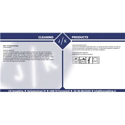 Glas & interieurreiniger (EM)