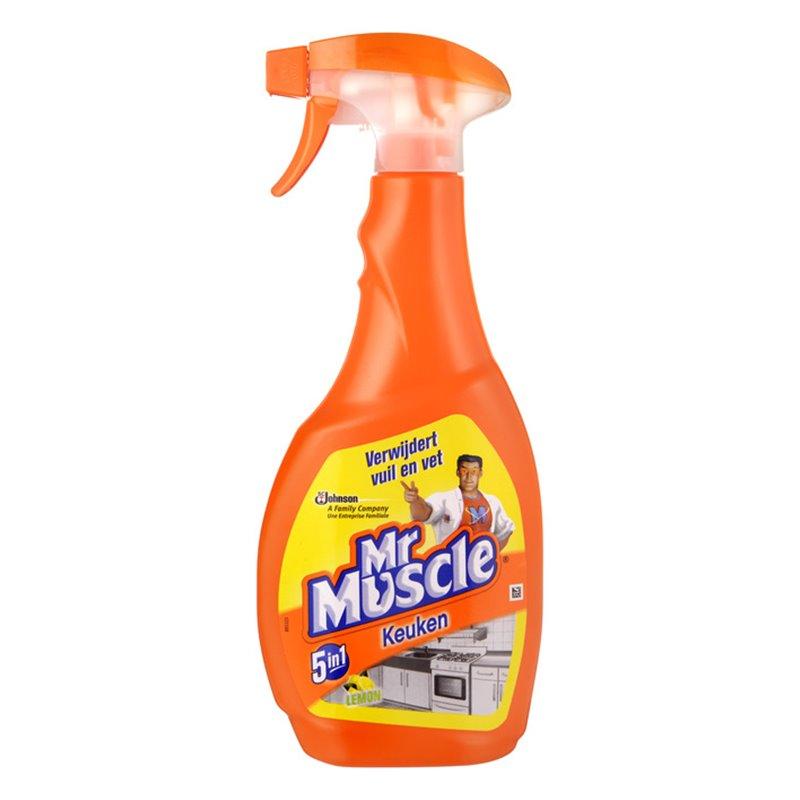 Kitchen cleaner Mr Muscle Spray bottle - Horecavoordeel.com
