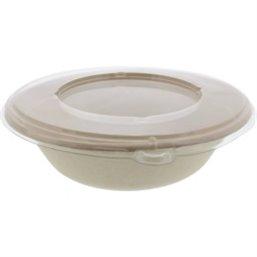 Lids for Saladbowl Pulp Biodegradable 1000cc
