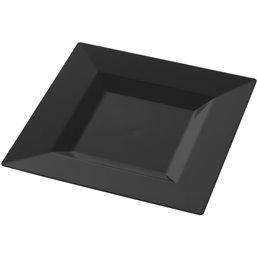 Amusebordje Cubik Zwart 60 x 60 x 14mm
