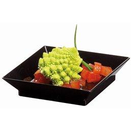 Amuse dish Cubik Black 60x60xh14mm (Small package)