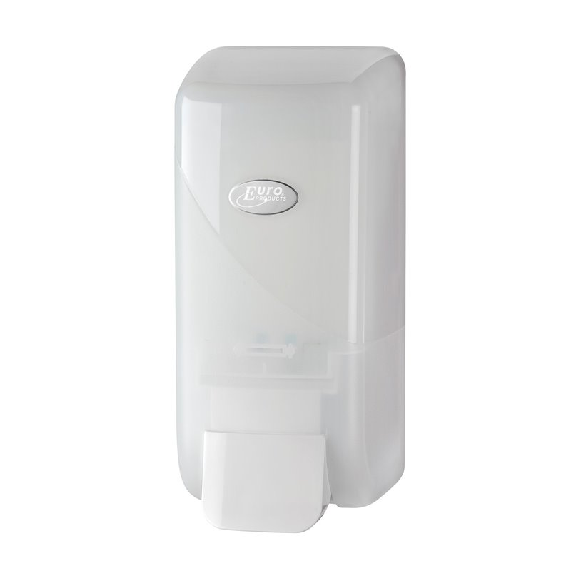 Soap Dispenser Foam Euro Pearl White 1000cc - Horecavoordeel.com