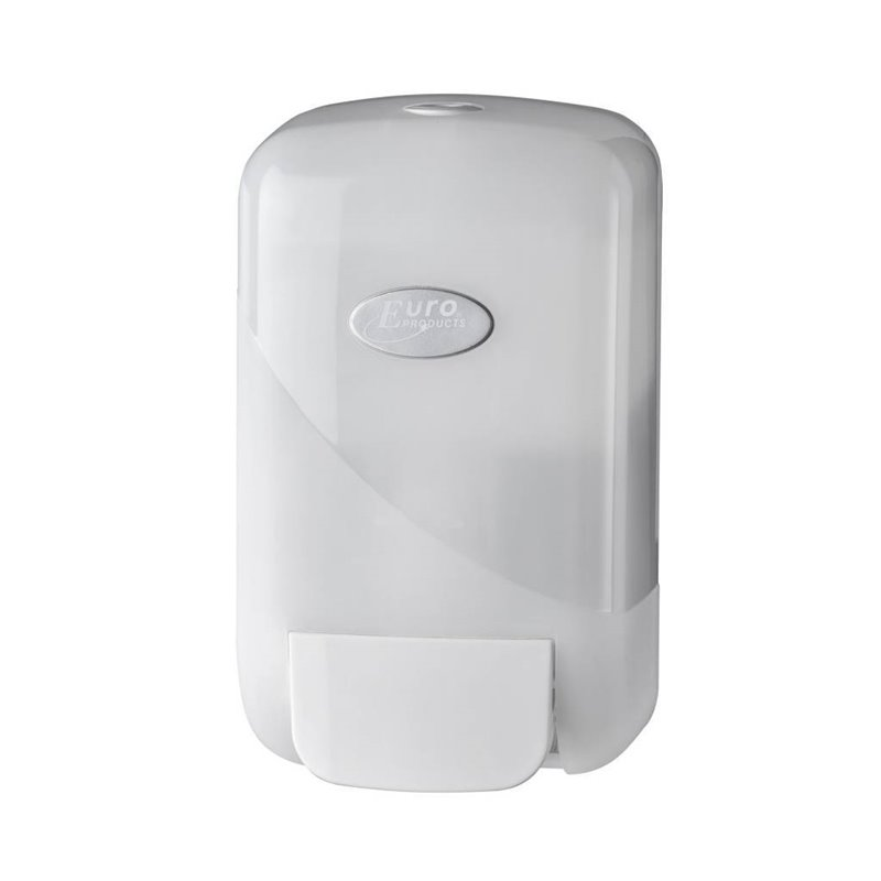 Soap Dispenser Foam Euro Pearl White 400cc - Horecavoordeel.com