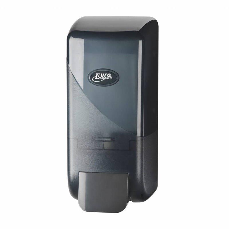 Soap Dispenser Bag In Box Euro Pearl Black 1000cc - Horecavoordeel.com