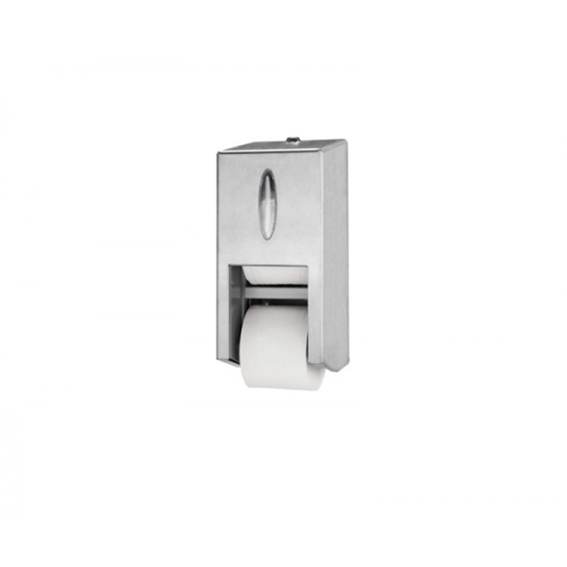 Toiletpapier Dispenser Tork Twin Rvs Horecavoordeel.com