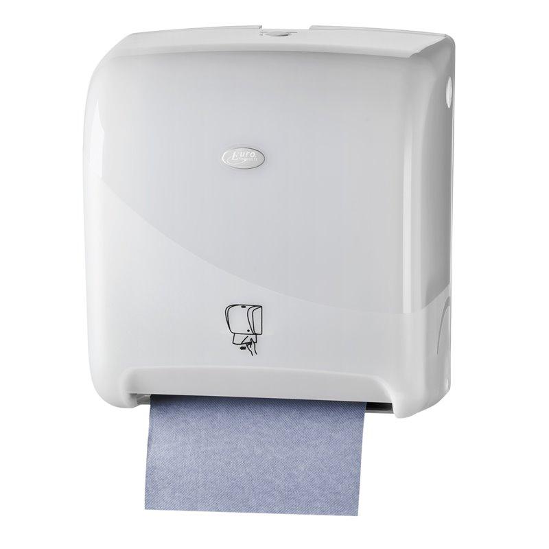 Towel Dispenser Euro Matic Tear&go Pearl White - Horecavoordeel.com